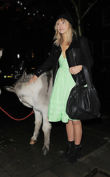 Suki Waterhouse arrives at the Love Magazine Christmas party in London. UK. 17/12/2013<br />BYLINE MUST READ : GOTCHAIMAGES.COM<br /><br />Copyright by © Gotcha Images Ltd. All rights reserved.<br />Usage of this image is conditional upon the acceptance <br />of Gotcha Images Ltd, terms and conditions available at<br />www.gotchaimages.com