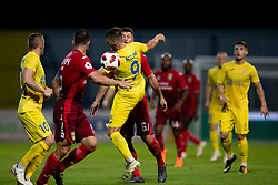 Lovro Bizjak of NK Domzale during 2nd Leg football match between NK Domzale and FC Ufa in 2nd Qualifying Round of UEFA Europa League 2018/19, on August 2, 2018 in Sports Park Domzale, Domzale, Slovenia. Photo by Urban Urbanc / Sportida