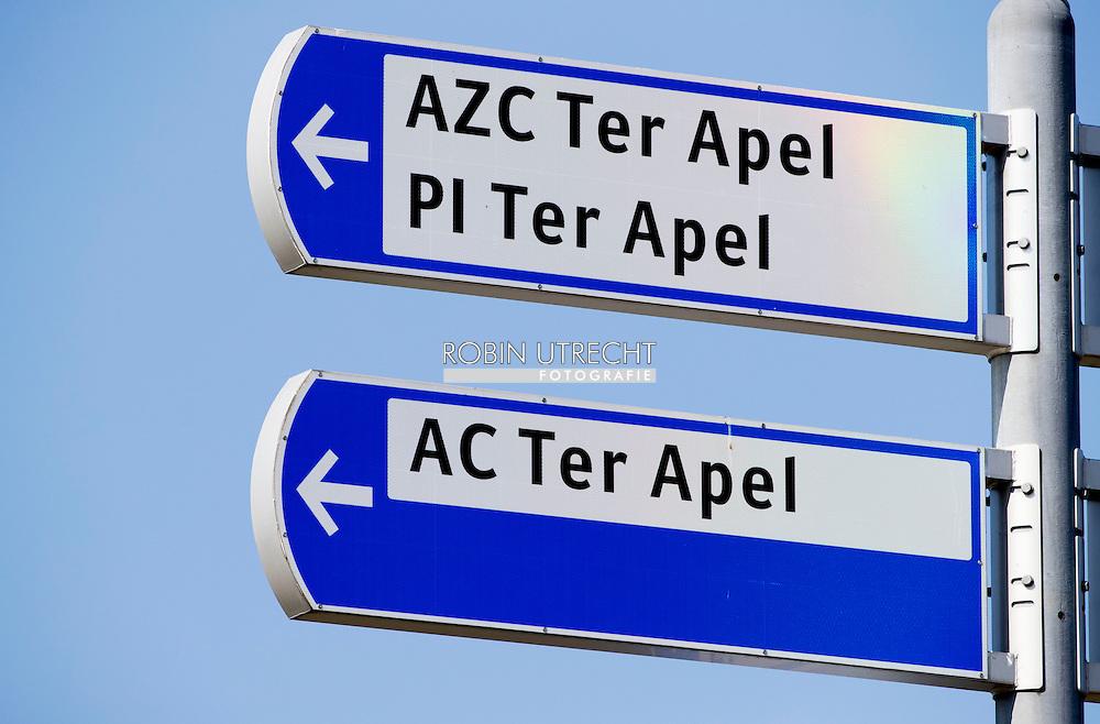 TER APEL - Reportage aanmeldcentrum Ter Apel  het dagelijks leven in en rondom het azc ter apel . anp COPYight robin utrecht