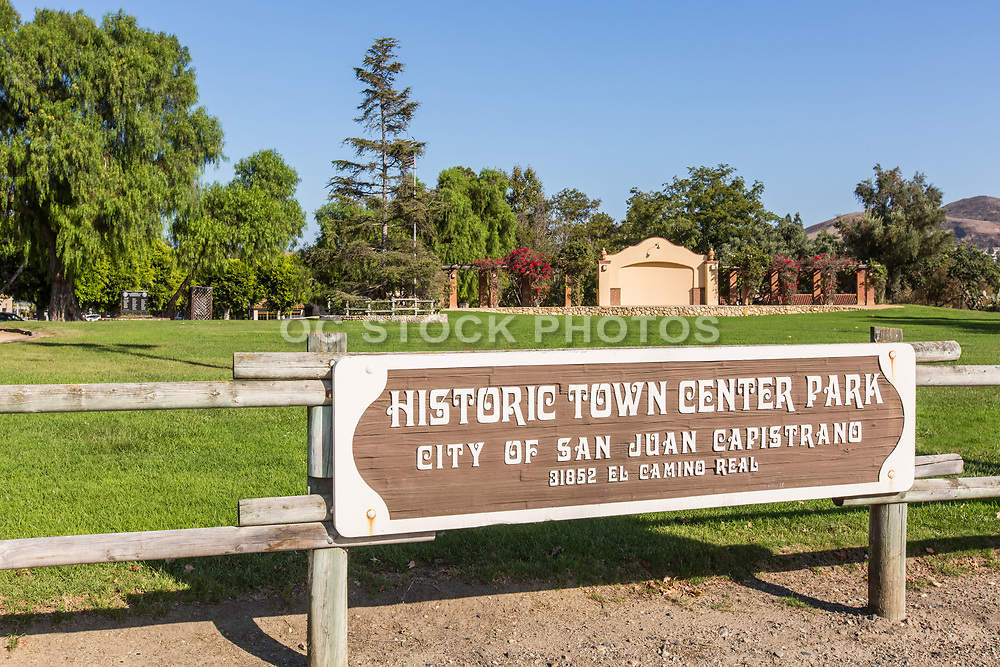 Historic Town Center Park and Stage