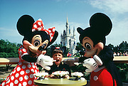 Mickey and Minnie, Walt Disney World, Orlando, FL.