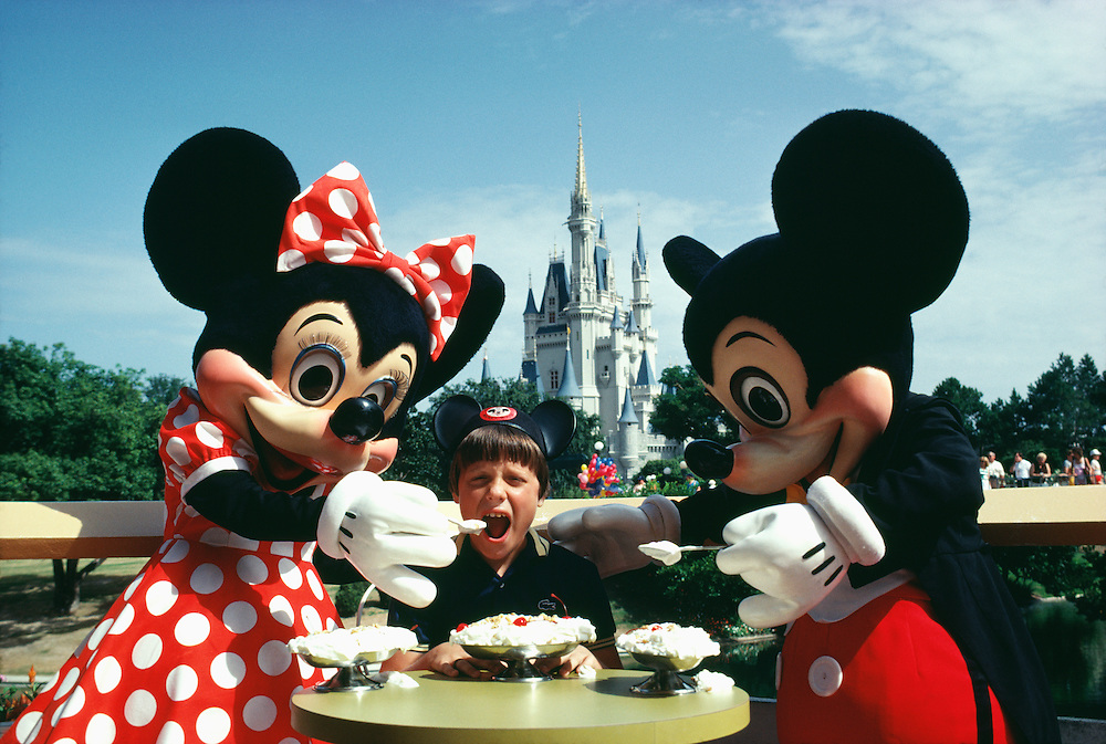 Mickey and Minnie, Walt Disney World, Orlando, FL.