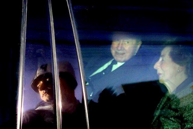 Former chilean dictator Augusto Pinochet