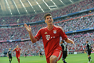 Fussball Bundesliga 2011/12: FC Bayern Muenchen - Hamburger SV
