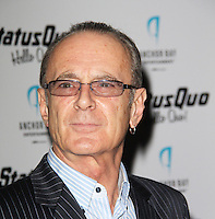 LONDON - OCTOBER 22: Francis Rossi attended the UK Film Premiere of 'Hello Quo' at the Odeon West End, London, UK. October 22, 2012. (Photo by Richard Goldschmidt)