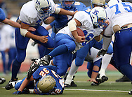 Lanier Running Back Josh Gamez, Kerrville Tivy vs. Lanier, 1 p.m. Saturday, 17 Nov 07, at Alamo Stadium: Tivy dominated the game scoring 42 points in the first half and knocking Lanier out of the playoffs 52-7.