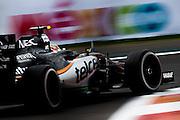 October 28, 2016: Mexican Grand Prix. Sergio Perez (MEX), Force India
