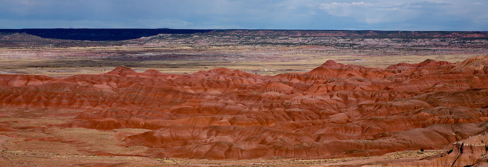 Photo by Gary Cosby Jr.  ..A view of painted hills near Arizona Highway 191 south of Chinle, Arizona.