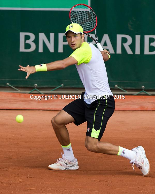 Dusan Lajovic (SRB)<br /> <br /> Tennis - French Open 2015 - Grand Slam ITF / ATP / WTA -  Roland Garros - Paris -  - France  - 27 May 2015.
