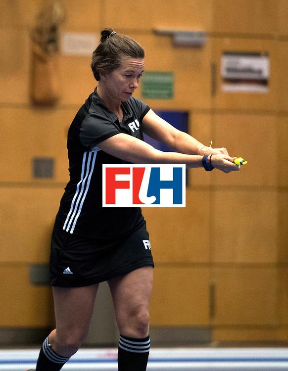 BERLIN - Indoor Hockey World Cup<br /> Women: Ukraine - Czech Republic<br /> foto: SCHMITZ Gabriele .<br /> WORLDSPORTPICS COPYRIGHT FRANK UIJLENBROEK