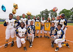 2016 A&T Softball vs NCCU