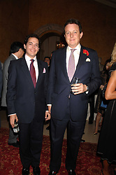 Left to right, jewellery designer LUIS MIGUEL HOWARD and LORD VALENTINE CECIL at Eterna - The Sand of Gobi a fashion show featuring fashion from Mongolia to honour the official visit of the President of Mongolia to the UK held at Lancaster House, London on 16th April 2007.<br /><br />NON EXCLUSIVE - WORLD RIGHTS