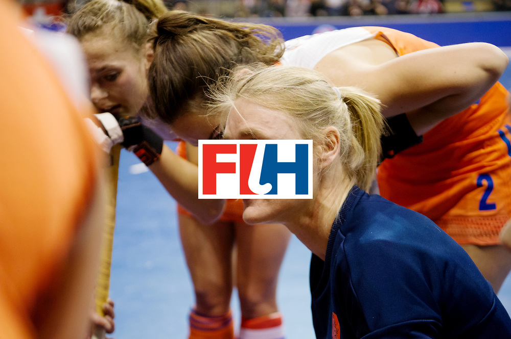 BERLIN - Indoor Hockey World Cup<br /> Quarterfinal 4: Netherlands - Czech Republic<br /> foto: Marieke Dijkstra.<br /> WORLDSPORTPICS COPYRIGHT FRANK UIJLENBROEK
