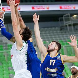 201401022: SLO, Basketball - EuroCup, KK Union Olimpija Ljubljana vs BC Khimki Moscow