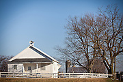 Amish one room school house in Gordonville, PA.