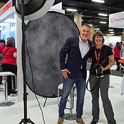 Cardinal Health RBC 2019. Tradeshow Floor.  Headshot booth. Photo by Alabastro Photography.