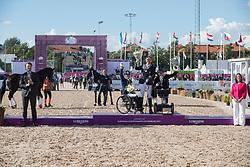 Puch Pepo, AUT, Den Dulk Nicole, NED, Tang Kaastrup Stinna, DEN<br /> FEI European Para Dressage Championships - Goteborg 2017 <br /> © Hippo Foto - Dirk Caremans<br /> 22/08/2017,