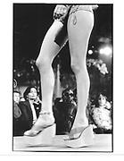 Model, Vivienne Westwood fashion show 1999 © Copyright Photograph by Dafydd Jones 66 Stockwell Park Rd. London SW9 0DA Tel 020 7733 0108 www.dafjones.com