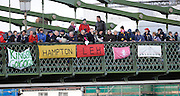 Hammersmith, GREAT BRITAIN,   Crowds gather on Hammersmith Bridge for the 2008 School Head of the River Race,  04/03/2008  2008. [Mandatory Credit, Peter Spurrier/Intersport-images] Rowing Course: River Thames, Championship course, Putney to Mortlake 4.25 Miles, Hammersmith Bridge