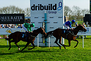 Hollywood Road ridden by Hector Crouch and trained by Gary Moore, Bayshore Freeway ridden by Franny Norton and trained by Mark Johnston  - Ryan Hiscott/JMP - 19/04/2019 - PR - Bath Racecourse- Bath, England - Race 6 - Good Friday Race Meeting at Bath Racecourse