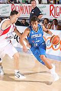 DESCRIZIONE : Bormio Torneo Internazionale Gianatti Finale Italia Croazia <br /> GIOCATORE : Marco Belinelli<br /> SQUADRA : Nazionale Italia Uomini <br /> EVENTO : Bormio Torneo Internazionale Gianatti <br /> GARA : Italia Croazia<br /> DATA : 04/08/2007 <br /> CATEGORIA : Palleggio<br /> SPORT : Pallacanestro <br /> AUTORE : Agenzia Ciamillo-Castoria/G.Cottini<br /> Galleria : Fip Nazionali 2007 <br /> Fotonotizia : Bormio Torneo Internazionale Gianatti Finale Italia Croazia<br /> Predefinita :