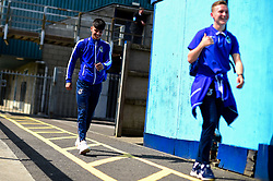 Lucas Tomlinson and Luke Russe of Bristol Rovers arrives at Memorial Stadium prior to kick off - Mandatory by-line: Ryan Hiscott/JMP - 04/05/2019 - FOOTBALL - Memorial Stadium - Bristol, England - Bristol Rovers v Barnsley - Sky Bet League One