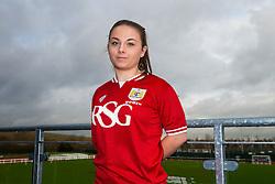 Paige Sawyer of Bristol City Women's FC - Mandatory byline: Rogan Thomson/JMP - 11/01/2016 - FOOTBALL - Stoke Gifford Stadium - Bristol, England - Bristol City Women's FC New Signings.