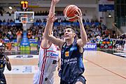 Diego Flaccadori<br /> Dolomiti Energia Aquila Basket Trento - Consultinvest Victoria Libertas Pesaro<br /> Lega Basket Serie A 2016/2017<br /> Trento, 26/03/2017<br /> Foto Ciamillo - Castoria