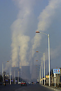 A view of the Baogang Steel works in Baotou, Inner Mongolia.