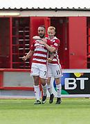 12th August 2017, SuperSeal Stadium, Hamilton, Scotland; SL Football league Hamilton Academicals versus Dundee;