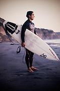 Portrait: surfer