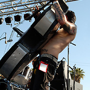 The Koffin Kats at The 5th Annual Ink-N-Iron Festival at The Queen Mary in Long Beach, California USA