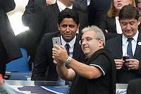 Nasser Al Khelaifi - 30.05.2015 - Auxerre / Paris Saint Germain - Finale Coupe de France<br />Photo : Andre Ferreira / Icon Sport