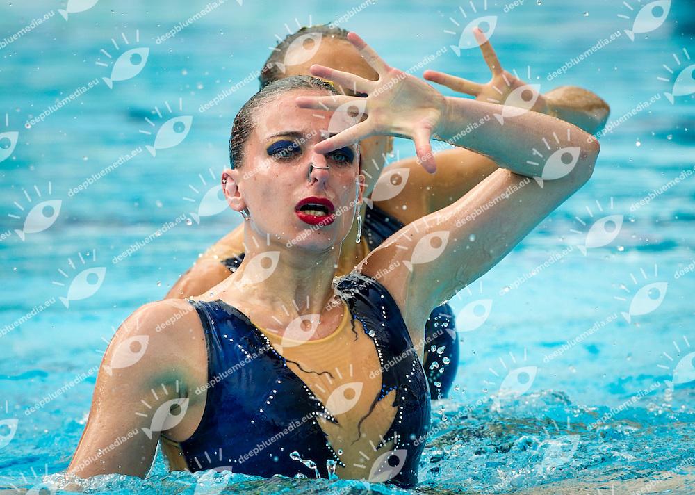 SYNCRO MED MURIANTICHI<br /> Abate Giulia<br /> Buccheri Maria Antonietta<br /> FIN Campionati Assoluti di Nuoto Sincronizzato<br /> Terni 2015  22 - 24 Maggio<br /> Photo D. Montano/Deepbluemedia/Inside