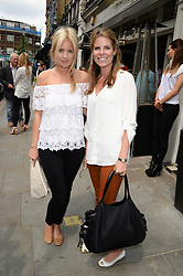 Left to right, MARISSA MONTGOMERY and CATHERINE CADBURY at the Glamorous Girls Summer Sale and Park Walk Street Party, Park Walk, London SW10 on 27th June 2013.