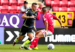 Billy Bodin of Bristol Rovers goes past Ahmed Kashi of Charlton Athletic - Mandatory by-line: Robbie Stephenson/JMP - 05/08/2017 - FOOTBALL - The Valley - Charlton, London, England - Charlton Athletic v Bristol Rovers - Sky Bet League One