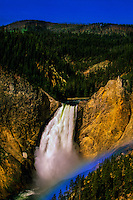 Yellowstone Falls, Grand Canyon of the Yellowstone, Yellowstone National Park, Wyoming