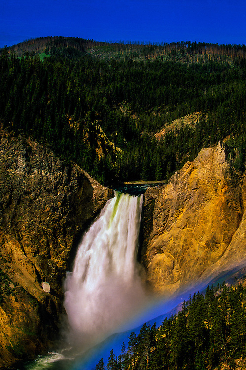 Yellowstone Falls, Grand Canyon of the Yellowstone, Yellowstone National Park, Wyoming