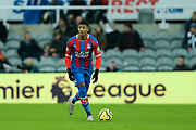 Patrick van Aanholt (#3) of Crystal Palace on the ball during the Premier League match between Newcastle United and Crystal Palace at St. James's Park, Newcastle, England on 21 December 2019.