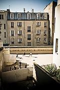 Stock  / MonteMartre, Paris France
