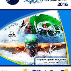 10-16TH APRIL 2016 SA NATIONAL AQUATIC CHAMPIONSHIPS