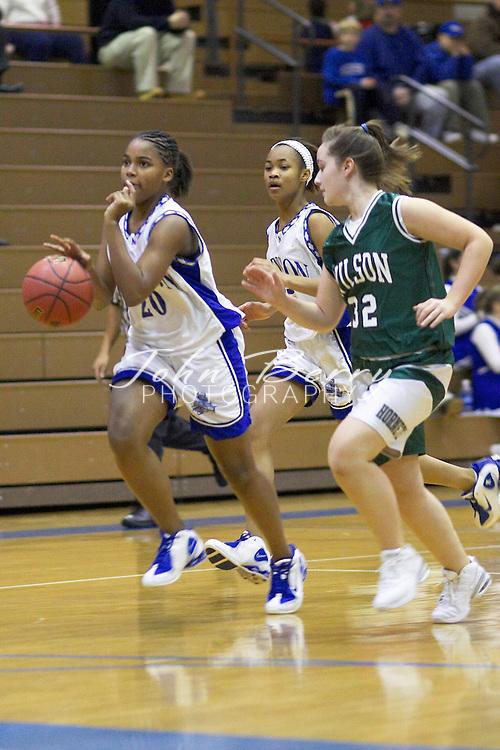 JV Girls Basketball..vs Wilson Memorial..January 18, 2005