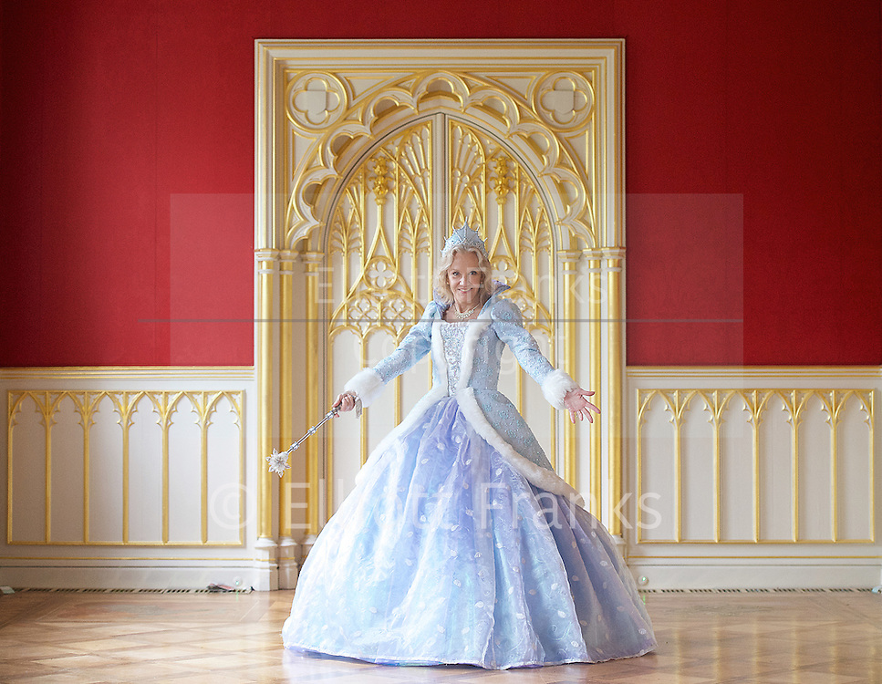 Hayley Mills as Fairy Godmother at the Cinderella publicity shoot for the Richmond Theatre production of Cinderella at Strawberry Hill House, Strawberry Hill, Nr Richmond, Great Britain <br /> 14th October 2015 <br /> <br /> Hayley Mills as Fairy Godmother <br /> <br /> <br /> <br /> Photograph by Elliott Franks <br /> Image licensed to Elliott Franks Photography Services