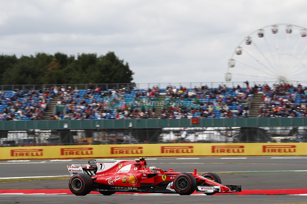 July 14, 2017 - Silverstone, Great Britain - Motorsports: FIA Formula One World Championship 2017, Grand Prix of Great Britain, .#7 Kimi Raikkonen (FIN, Scuderia Ferrari) (Credit Image: © Hoch Zwei via ZUMA Wire)