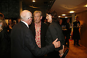 Sir Ian McKellen and Richard Wilson, Sadler's Wells Celebrates. Benefit evening for Sadler's Wells hosted by Angela Bernstein and Alistair Spalding. The Royal Horticultural Halls. London. 25 September 2006. -DO NOT ARCHIVE-© Copyright Photograph by Dafydd Jones 66 Stockwell Park Rd. London SW9 0DA Tel 020 7733 0108 www.dafjones.com