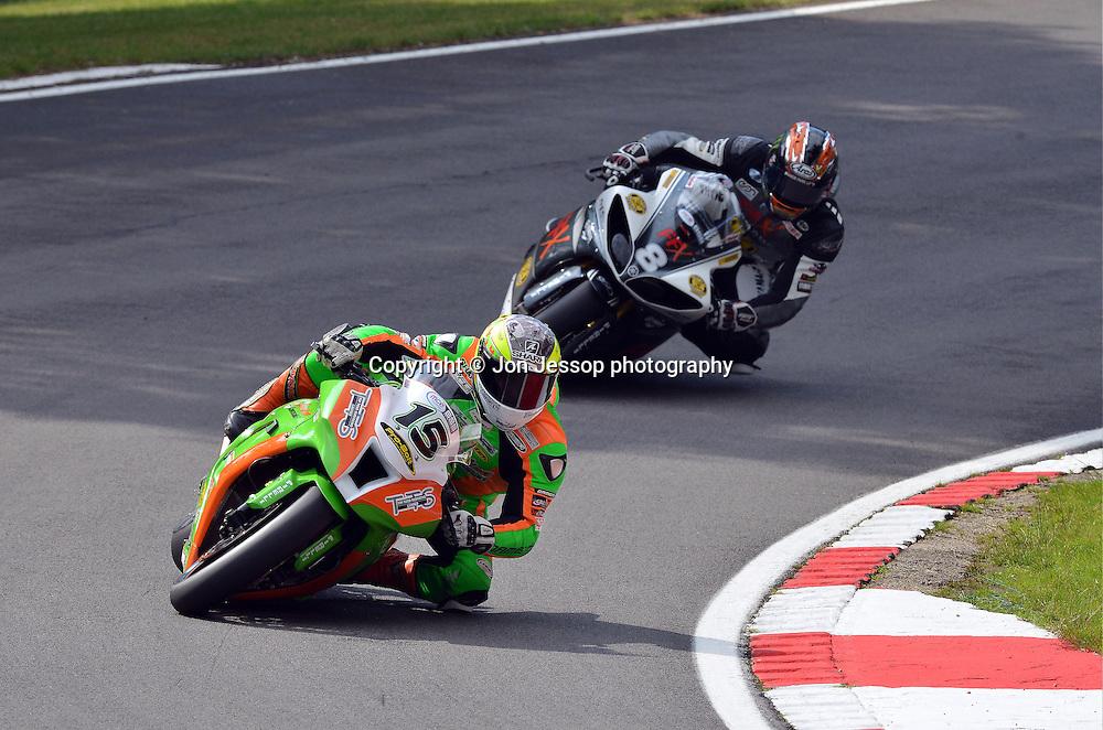 #15 Ben Wilson Gearlink Kawasaki British Superbikes