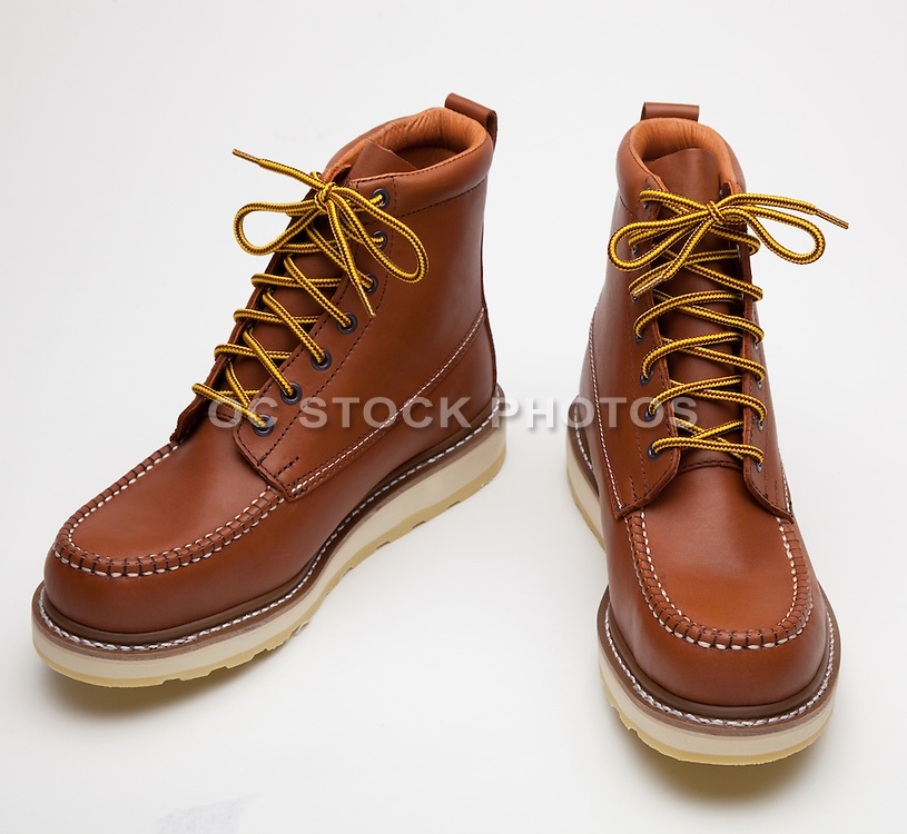 Mens Leather Work Boots