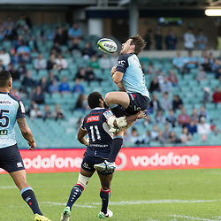 Cameron Clark of the Waratahs during the super rugby match between Waratahs and the Rebels Allianz Stadium 21 May 2017(Photo by Mario Facchini -Steve Haag Sports)