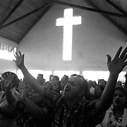 The Methodist church in Ciudad Quesada was one of the first the denomination established in Costa Rica.  A missionary group has an encampment in the outskirts of the city and has worked to establish churches around the country, including on indigenous reservations.