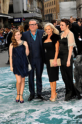 Ray Winstone with family  arrives for the UK premiere of the film 'Noah', Odeon, London, United Kingdom. Monday, 31st March 2014. Picture by Chris Joseph / i-Images